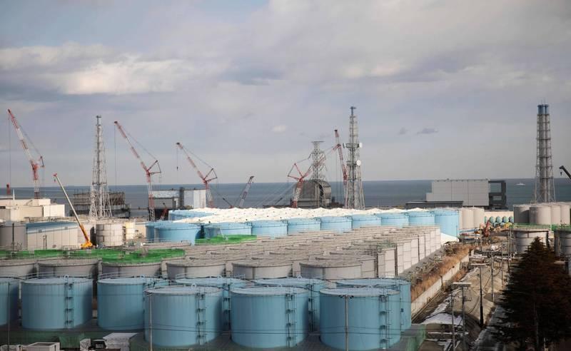 日本政府擬在13日召開「部長級會議」,討論是否將稀釋過後的福島核廢水排入大海。(法新社)