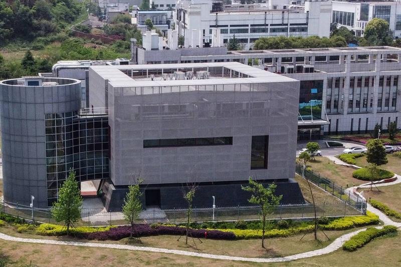 武漢P4實驗室。(法新社)