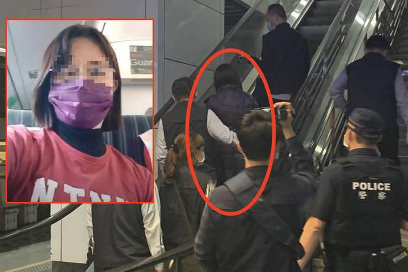 抓到了!女自拍影片網上嗆「槍斃蔡英文」 鐵路刑大帶回調查