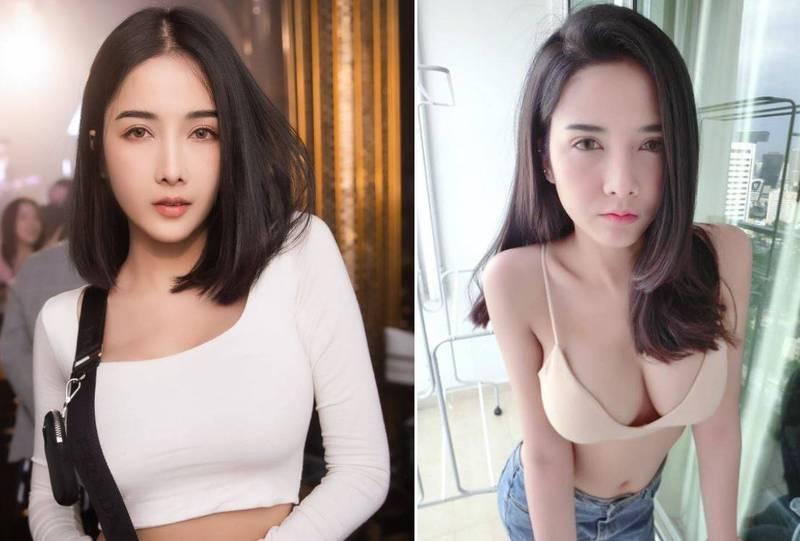 曼谷知名夜店女公關法瑟自爆確診,除了向網友道歉,她也急喊「接觸過我的快去檢查」。(翻攝自臉書)