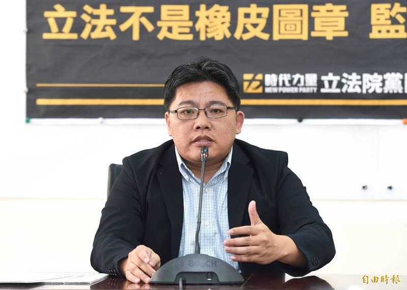 內政部建議國民黨調整黨徽 時力邱顯智:那就發函要求更改