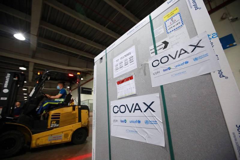 武漢肺炎》已逾百國獲COVAX配送疫苗 今年有望發20億劑