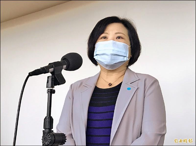 勞動部長許銘春昨表示,防疫接種假不能強迫雇主給薪。 (記者李雅雯攝)