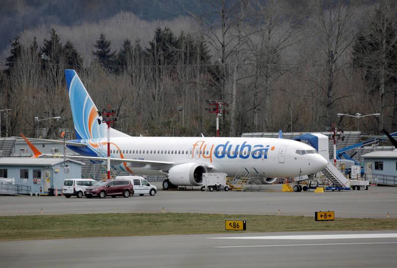2021年初時,澳洲、美國、加拿大與歐盟陸續批准美國飛機大廠波音公司的737 MAX可復飛。不過,737 Max如今又被發現到電力系統的問題。圖為同型機。(路透)