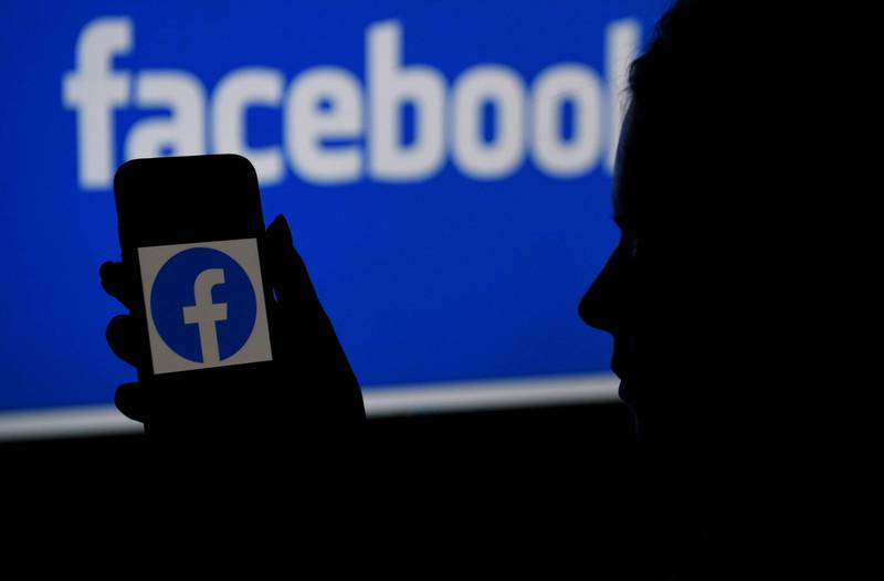 臉書、Instagram今天清晨傳出當機,問題包括完全無法使用、無法登入及動態消息異常,已有用戶陸續恢復正常。(法新社資料照)