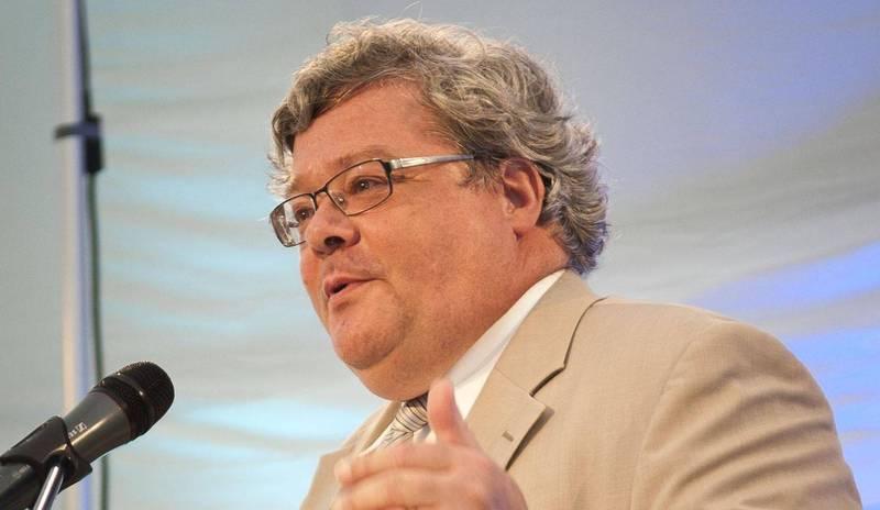 來自德國的歐洲議會對中關係代表團主席包瑞翰(Reinhard Butikofer)日前遭到中國制裁。(法新社資料照)