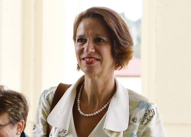 聯合國「緬甸事務特使」柏其納排解緬甸問題而前往東南亞,但她表示緬甸軍政府昨天拒絕她的訪問。(資料照,美聯社)
