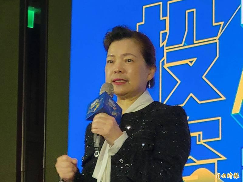 經濟部長王美花說,供5停2限水措施將持續到5月底。(記者何玉華攝)