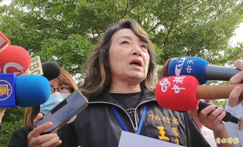兒權會理事長、遺體修復「76行者」團隊發言人王薇君。(資料照)