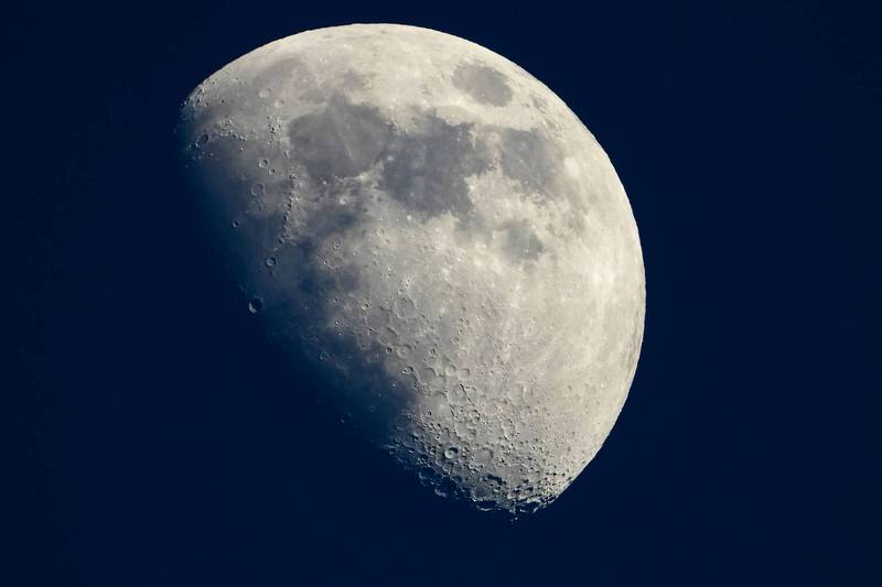 NASA計畫2024年讓太空人重返月球。(法新社)