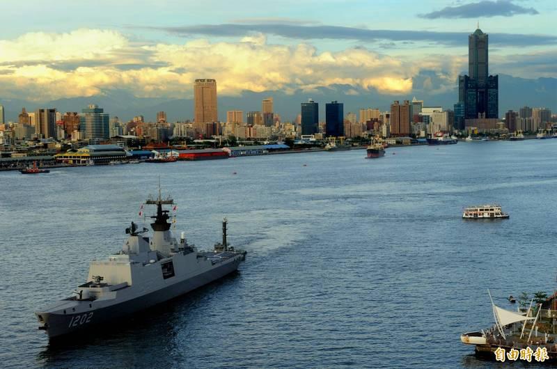 海軍表示,為建立符合防衛作戰之制海戰力,新一代主作戰艦相關武器裝備構型,依海軍作戰需求,刻正審慎評選作業中,媒體報導內容並非事實。示意圖。(資料照)