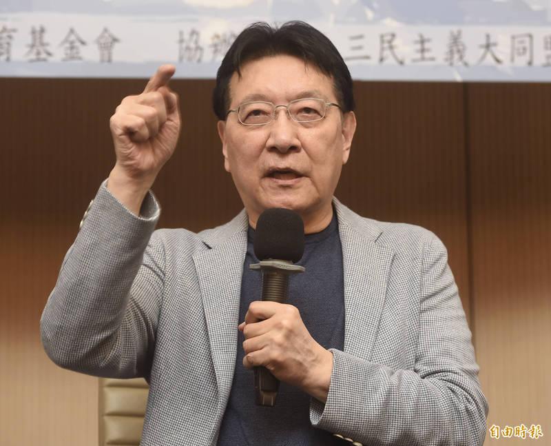 中廣董事長趙少康。(資料照)