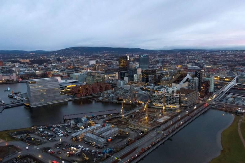 挪威奧斯陸空景。資料照。(路透)