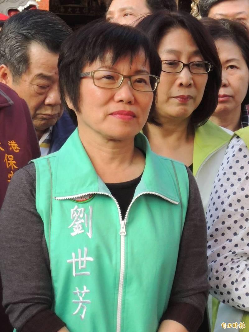 應對4大公投,劉世芳:非政黨對決、是台灣前途能否同舟一命。(記者王榮祥攝)