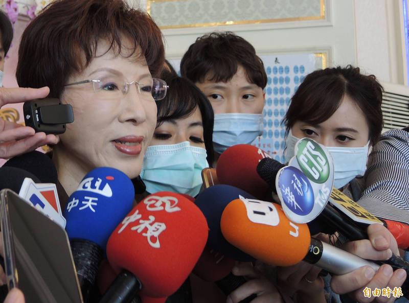 韓國瑜參選國民黨主席? 洪秀柱:要看對方自己的意願