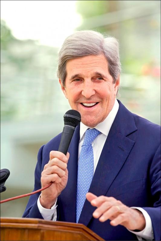 傳美國氣候特使、前國務卿凱瑞(John Kerry)將於下週訪問中國。(歐新社)