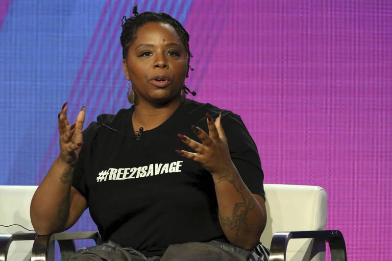 「黑人的命也是命」(BLM)運動發起者之一卡洛絲(見圖)最近被爆料近年與丈夫在洛杉磯購入4套高級住宅。(美聯社)