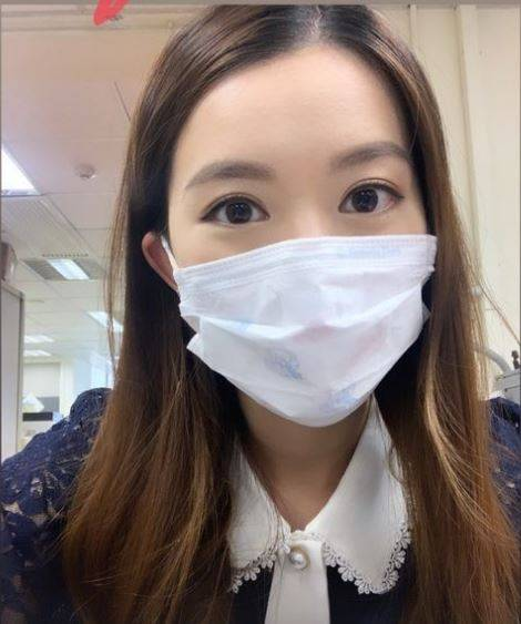 香港電台美女記者唐若韞去年在訪問世衛顧問時,因多次追問「台灣會員資格」等相關問題,遭親中建制派批鬥。(圖擷取自唐若韞IG)