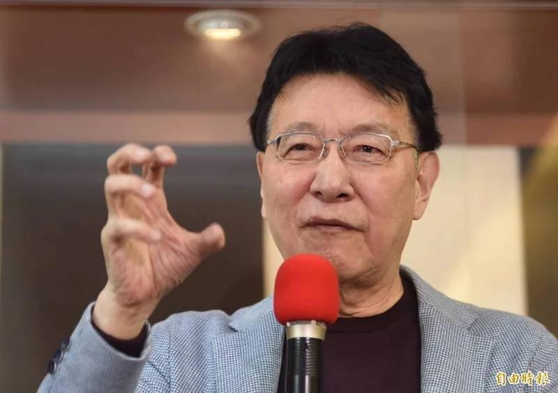 中廣董事長趙少康認為蔡總統輕重緩急分不清楚。(資料照)