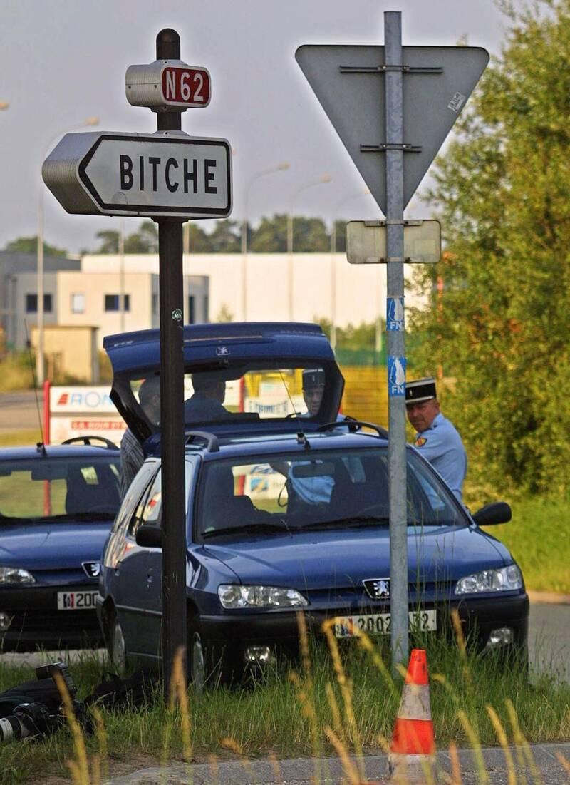 法國東北部摩塞爾省小鎮Bitche的官方頁面被臉書刪除,直到今日才恢復。(法新社)
