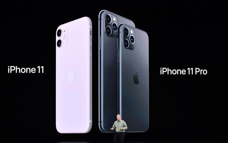 正常來說iPhone手機背殼的蘋果圖案總是對齊得相當精準。(法新社)