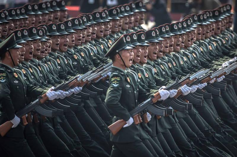 中國多個軍事論壇和軍事自媒體帳戶,最近先後被北京政府責令永久關閉和註銷帳戶。(歐新社資料照)