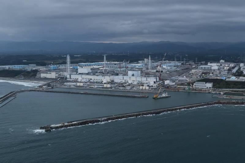 日本政府今天拍板決定將福島核廢水排入海洋,引發各界熱議。(資料照,綠色和平提供)