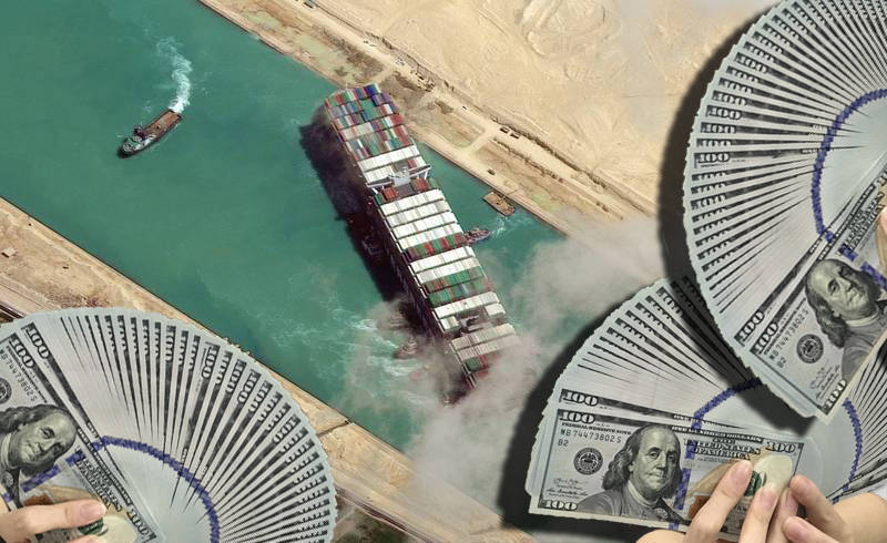 埃及法院正式裁定 長賜輪需賠9億美元才解除扣押