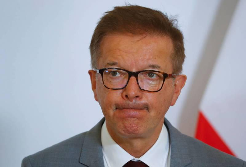 奧地利衛生部長安修柏(見圖)稱,這份職務讓他身心俱疲,他已經不想再做下去。(路透資料照)