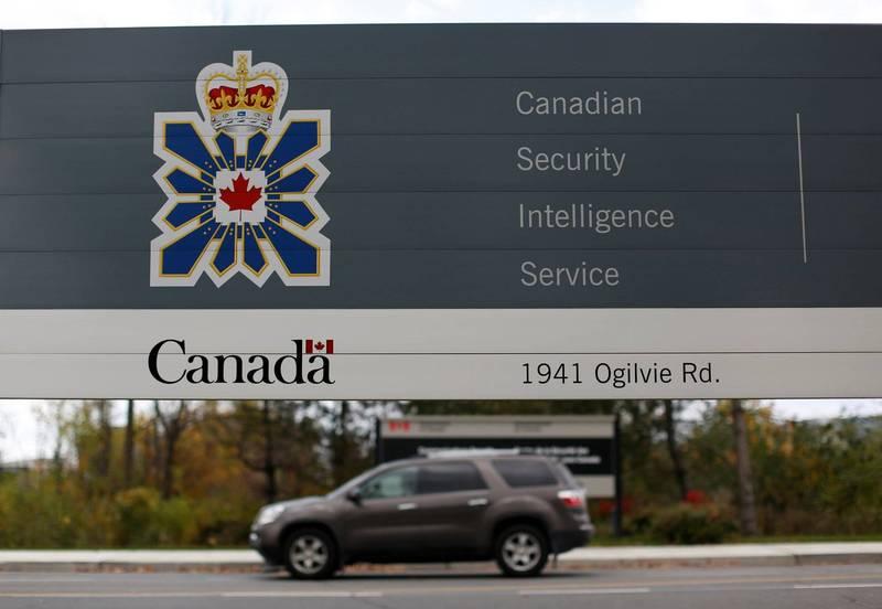 加拿大安全情報局指出,去年在加拿大的外國間諜和干擾達到自冷戰以來的最高等級。(路透)