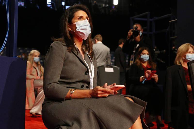 美國駐聯合國大使海利(Nikki Haley)今日公開譴責中國的暴行,並警示,中國正在加速對台灣的侵略。(歐新社)