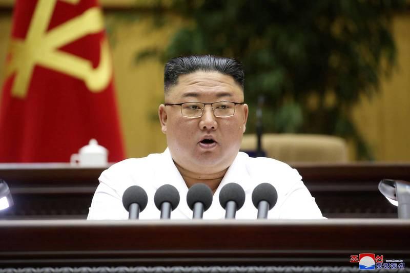 北韓領導人金正恩可能考慮年內重啟核試驗,並試射遠程飛彈,以對美國施壓。(路透)