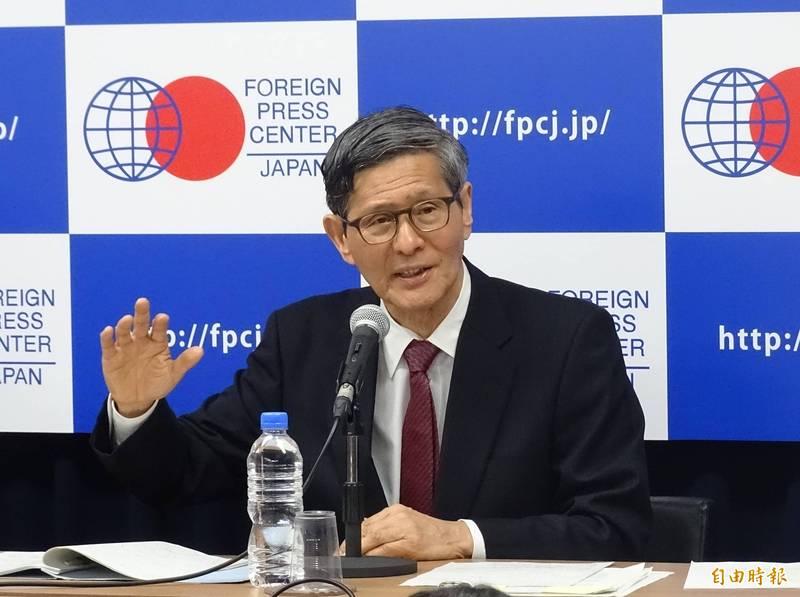 日本「新冠病毒感染症對策小組會」會長尾身茂(見圖)今天表示,日本當前疫情「可以說是進入『第4波』」。(資料照)