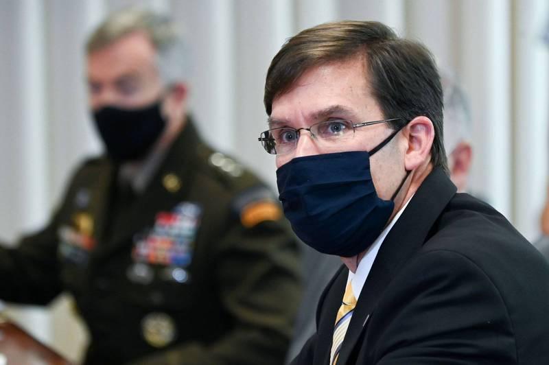 艾斯培建議,美國應向黑海及波羅的海派遣更多部隊。(路透)