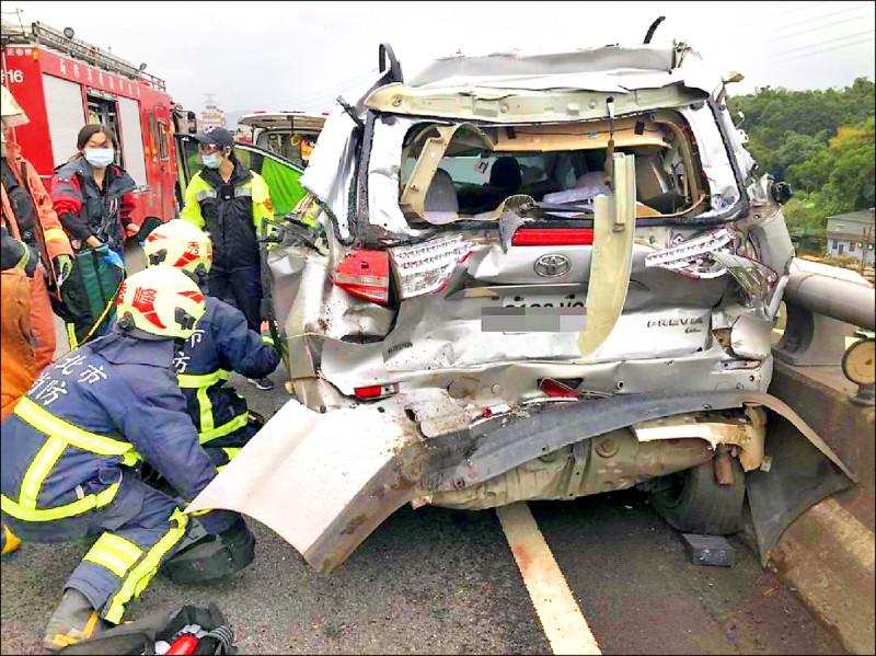車輛投保第三人責任險上路才保險,以免遇重大事故,賠償金拖垮整個家庭。 (記者吳昇儒翻攝)