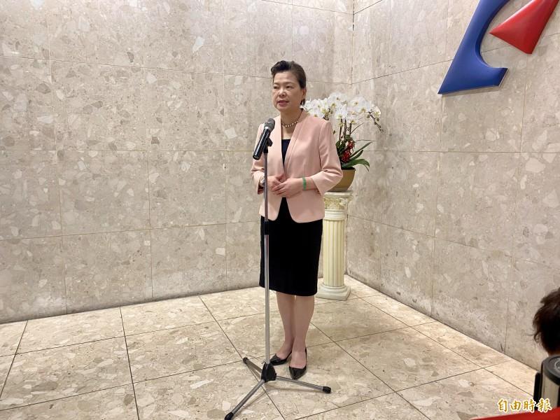 經濟部長王美花。(記者黃佩君攝)