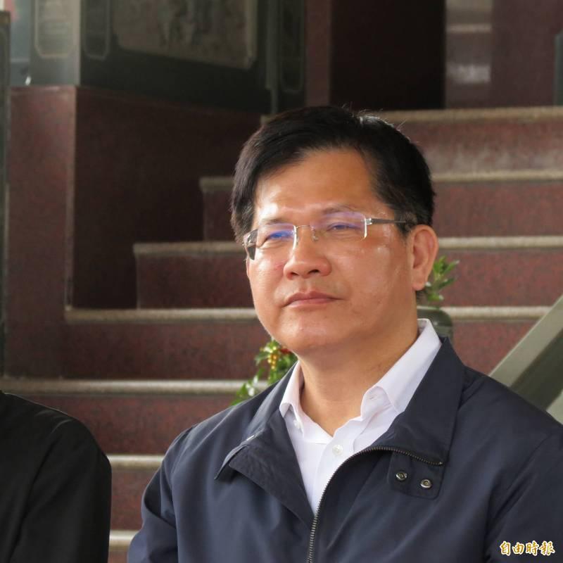 林佳龍會回鍋選中市長嗎?民進黨說基層有聲音,國民黨說黨內派系難平,除非蔡英文欽定。(記者蘇金鳳攝)