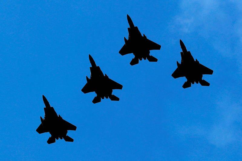 美國空軍預備役司令部14日創立73週年。示意圖。(路透)