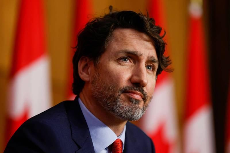 加拿大總理杜魯道(Justin Trudeau)表示,加拿大政府將持續贊助HFX論壇,並支持台灣有意義參與國際多邊論壇。(路透資料照)