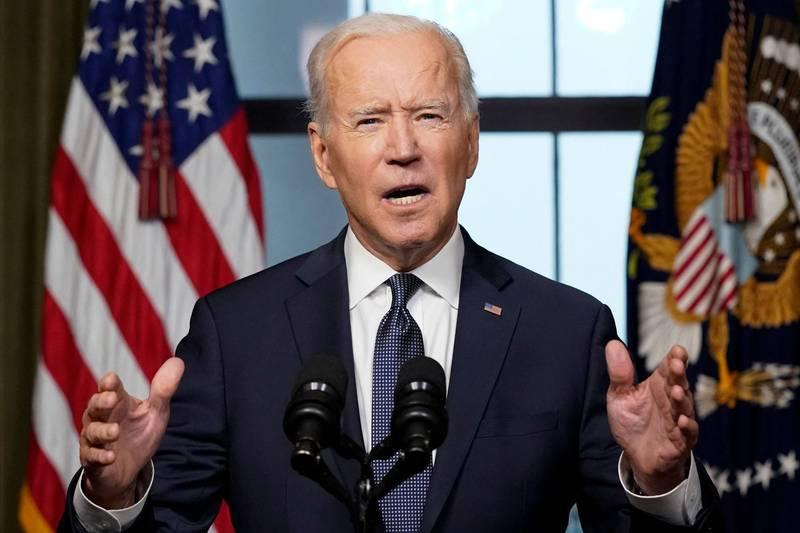 美國總統拜登14日宣布,美軍將從5月1日開始撤離駐紮阿富汗的2500名美軍。(法新社)