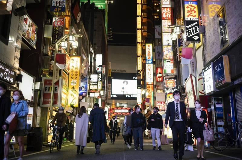 日本昨日新增破4000例。(美聯社)