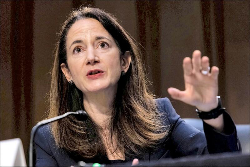 美國國家情報總監海恩斯在聽證會表示,中國是近乎匹敵的競爭者,足以在多個領域挑戰美國。(路透)
