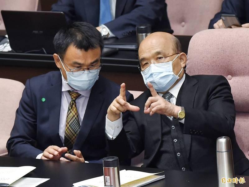 台灣爆發牛結節疹,行政院長蘇貞昌今天中午將視察應變措施。(資料照)