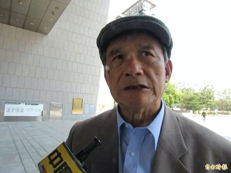 前國防部長蔡明憲強調,陶德來台具雙重意義,代表美國拜登政府對台灣的支持,更重要的是美國關切中國在台海周邊海域挑釁的行逕。(記者蘇孟娟攝)