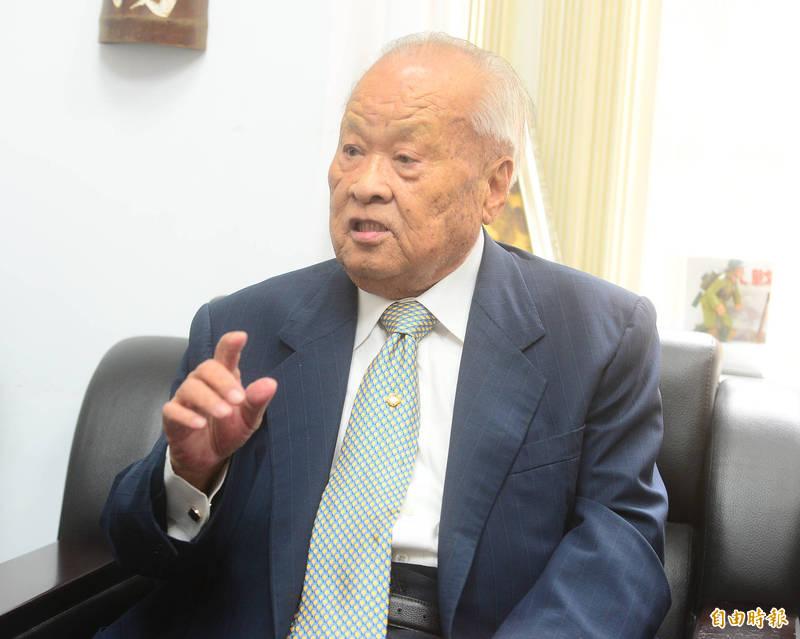 前考試院長許水德日前辭世,享耆壽91歲,告別式將於4月19日舉行。(資料照)