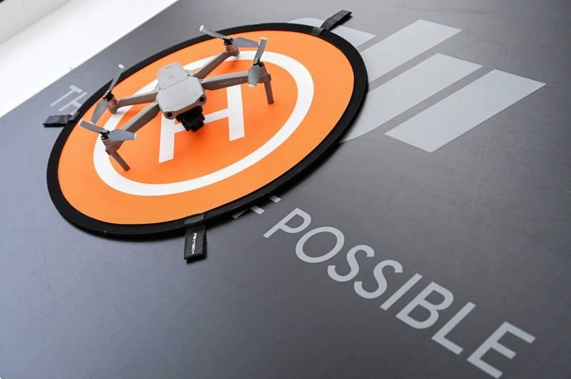 無人機品牌大疆今發布自動駕駛系統品牌「大疆車載」。(法新社)