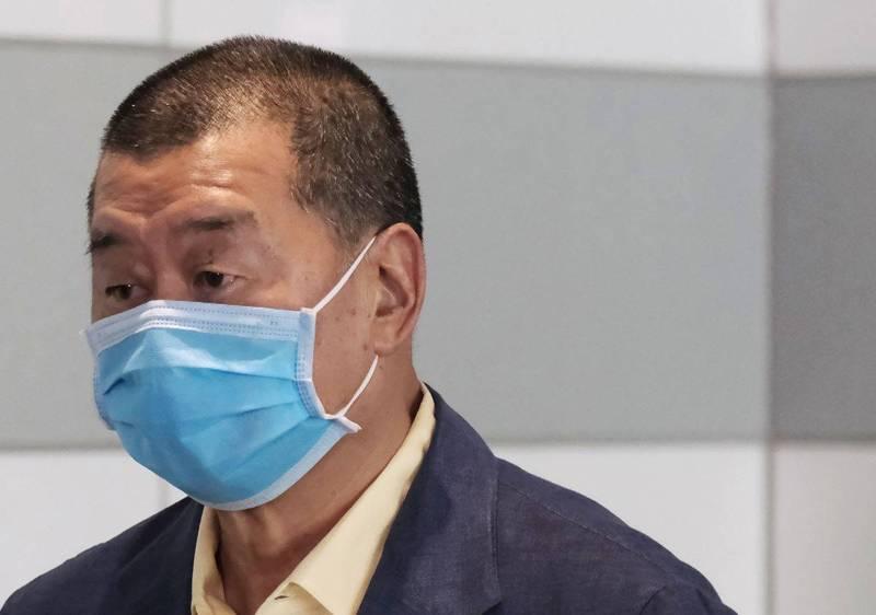 壹傳媒集團創辦人黎智英。(彭博)