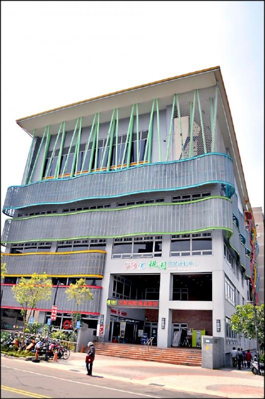 桃園市府規劃設立11座國民運動中心、5處體育園區,桃園國民運動中心已啟用。(資料照)