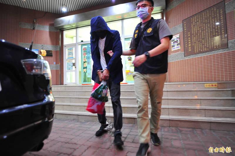 吳姓男子從桃園開車到台南搶劫,還繞路去吃小吃,他自稱難得到台南不吃太可惜。(記者王捷攝)