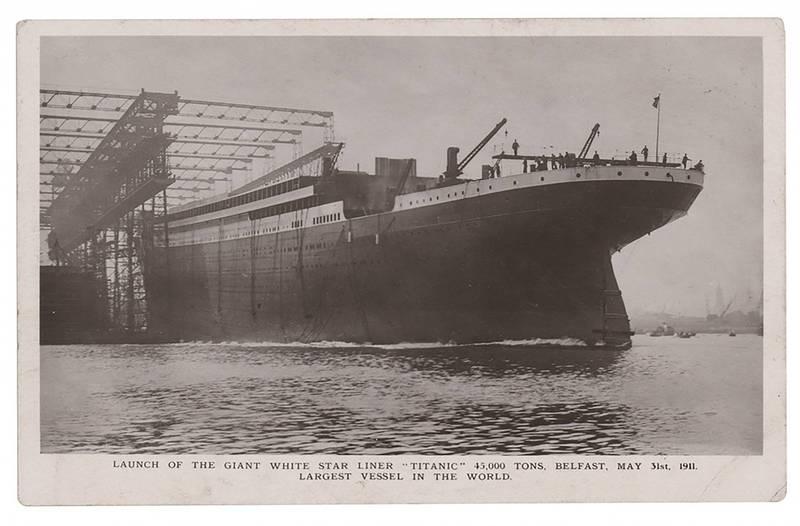 鐵達尼號電報員傑克·菲利浦(Jack Phillips),在沉船時堅守崗位發出求救訊號,讓數百人得到救援但自己卻殉職,其生前所寄出的明信片將於本月拍賣。(美聯社)
